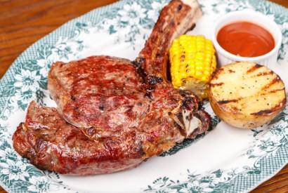 Beef cut on the bone